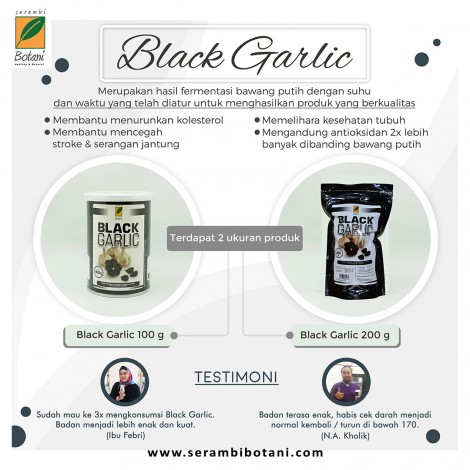 BLACK GARLIC 200gr